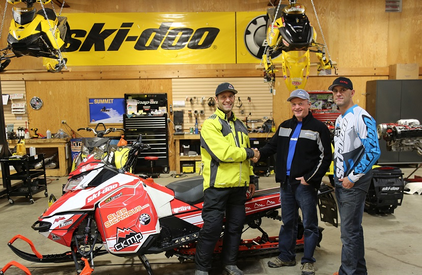 Sicamous Snowmobile Club Skidoo BRP donate